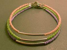 Seed Bead Bracelets Seed Bead Bracelet Trio by CraftsbyBrittany, $9.00