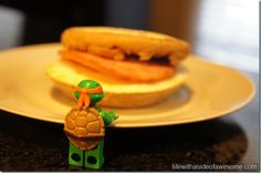 Day 24 - Homemade egg mcmuffin