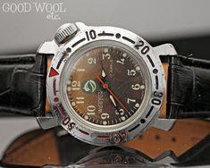 f5fb25b1e885 Vintage russian vostok watch - us seller - rare komandirskie jr. - 2409
