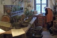 Image result for medieval apothecary