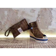 Shoe & Bag olive set
