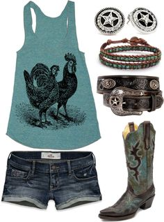I will wear this in the future when I'm tending to my chickens. And my horses. Yeah.