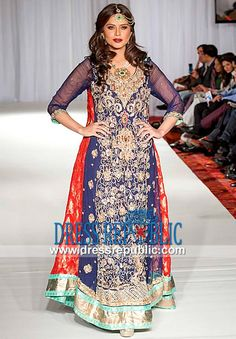 Pakistani Party Frocks 2014 | Dresses for Special Occasions  Buy Online Pakistani Party Frocks 2014 n Latest Designer Dresses for Special Occasions at Affordable Prices in Canada. Original Quality. by www.dressrepublic.com