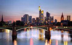 Frankfurt, Germany. Nearest airport: Frankfurt International Airport (FRA). Way to get there: www.getgoing.com