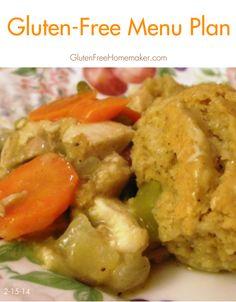 Gluten-Free Menu Plan 2-15-14   The Gluten-Free Homemaker