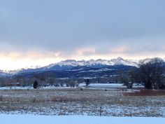 The view I will never get tired of... Montrose, CO