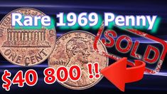 Rare 1969 S Doubled Die Penny Sold For Big Money in Chicago Show Me The Money, Big Money, Old Coins Value, Penny Values, Old Coins Worth Money, Rare Pennies, Valuable Coins, Penny Coin, Coin Worth