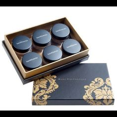 BNIB BAREMINERALS VELVET LUXE 6 PIECE EYESHADOW Brand new in the box, never used. 6piece velvet eyeshadow collection in a keepsake box! never opened or swatched at all! The colors included are: velvet cream, velvet taupe, velvet espresso, velvet mauve, velvet green, and velvet charcoal! Eyeshadow is an extra smooth blend by bareminerals - comes with a little booklet also! Always willing to take offers and NEGOTIATE prices! Feel free to make an offer!! Bundle for better prices!! Sephora…