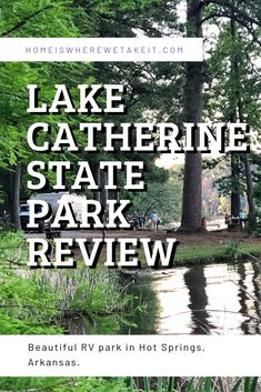 Lake Catherine State Park is a great place for RV camping and outdoor activities! It& also a great place to stay to enjoy Hot Springs National Park. Camping Hacks, Kayak Camping, Camping Ideas, Camping Outdoors, Camping Essentials, State Parks, Rv Parks, Grand Teton National Park, National Parks
