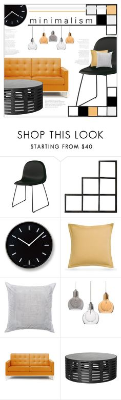 """""""Minimalism"""" by stylect ❤ liked on Polyvore featuring interior, interiors, interior design, home, home decor, interior decorating, Gubi, Lemnos, Southern Tide and Kate Spade"""