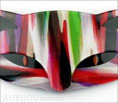 Lea Stein Romeo The Cat Brooch Pin Multicolor Strokes Black – AuBijou.boutique
