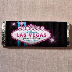 Las Vegas Nut Free Gourmet Milk Chocolate Bar specialtyribbon.com