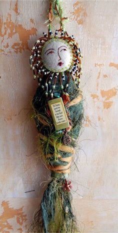 A to Zinnia spirit dolls  OHHHH Been so long since I made a Goddess doll