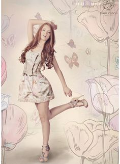 "Bianca & Iulia – for Dana Panciu "" Whisper of spring "" , colectie capsula 2012 Whisper, Collections, Spring, Dresses, Fashion, Hush Hush, Vestidos, Moda, Gowns"