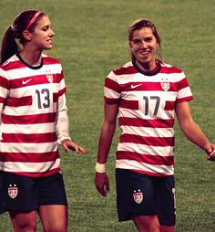 Two of my favorite players... even if they are American