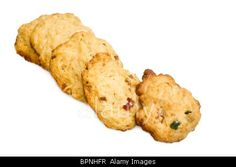 Royalty free stock photography from Alamy: Desserts - Homemade biscuits isolated on white background.