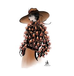 Aigner inspiration #Fashionillustration by LindaZoon