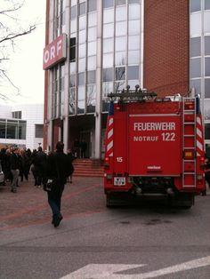 Feueralarm beim ORF (c) Karl Pachner