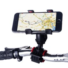 Nieuwe smart universele fiets mount voor iphone fiets handvat telefoon mount cradle voor iphone xiaomi redmi note 3 pro