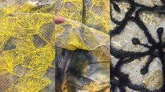 textiles sample with net