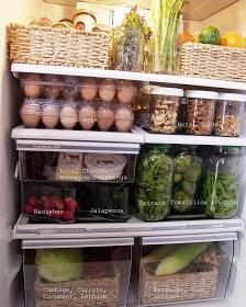 The Intentional Minimalist: Seasonal Cooking and Produce Storage Tips - Where Home Starts -. The Intentional Minimalist: Seasonal Cooking and Produce Storage Tips - Where Home Starts -. Refrigerator Organization, Kitchen Organization, Organization Ideas, Organized Fridge, Refrigerator Storage, Painting Refrigerator, Paint Fridge, Storage Ideas, Fridge Drawers