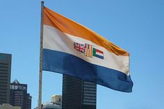 Oranje, blanje, blou - the old SA flag South African Flag, South African Air Force, Kos, Africa Travel, Distillery, Land Scape, Old Things, History, Products
