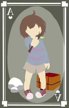 Frisk the Ace by pika-chan2000.deviantart.com on @DeviantArt