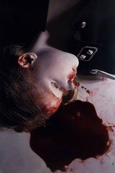 """The Murmur of the Innocents 16"" (2010) by Gottfried Helnwein"