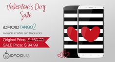 The best gift for your beloved. This Valentine‬, iDROID offers 44% discount‬ on iDROID Tango2‬. Rush to grab this limited time offer and get huge discount. Last Price: $169.99 Sale Price: $94.99 Click here to buy: http://www.idroidusa.com/english/tango-2-black.html