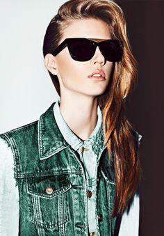 RayBan sunglasses 2016 newly designed for you! Looks Street Style, Looks Style, Style Me, Funky Style, Swag Style, Hair Style, Moda Fashion, Womens Fashion, Fashion Tips