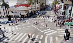 "Los Angeles is notorious for its dangerous intersections, but installing a ""scramble"" has made Hollywood and Highland much safer."