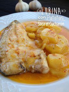 Esta receta de lubina al horno con patatas de las mejores, rica,sencilla y completa al mismo tiempo. Saca el Cucharón