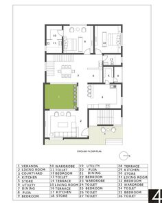 DEVGIRI RESIDENCE at NANDED, MAHARASHTRA, by 4TH AXIS DESIGN STUDIO 59 Pooja Rooms, Courtyard House, Main Entrance, One Bedroom, Ground Floor, Modern Living, Dining Area, Facade, Living Spaces