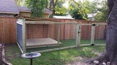 Super Diy Dog Run Fence Projects 69 Ideas Outdoor Dog Area, Backyard Dog Area, Outdoor Dog Runs, Outdoor Play, Backyard Patio, Outdoor Living, Dog Run Fence, Diy Dog Run, Dog Enclosures