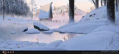 Klaus style test by Szymon Biernacki | Cartoon | 2D | CGSociety