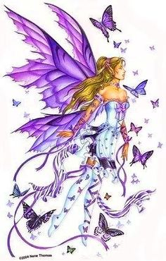 a fibromyalgia fairie & butterflies
