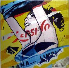 Original Popular culture Painting by Trafic D'art Original Paintings, Original Art, Poster Series, Acrylic Material, Vintage Magazines, Popular Culture, Medium Art, Buy Art, Saatchi Art