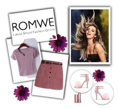 """""""Romwe 45"""" by zerina913 ❤ liked on Polyvore featuring romwe"""