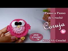 Barradinho Corujinha por JNY Crochê - YouTube
