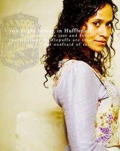 Gwen a Hufflepuff?!?! *dies laughing* Poor dear. I thought I saw a bit of Griffyndor in her...