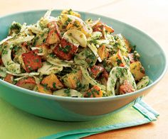 Tried-and-true classic American potato salad, plus roasted and grilled versions, as well as potato salads with flavor profiles from near and far.