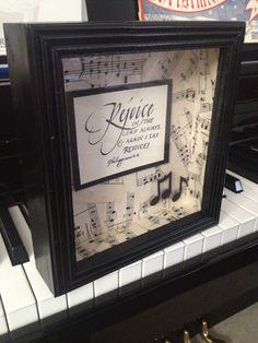 DIY Music Teacher Gift in 5 minutes under $10   Music teachers ...