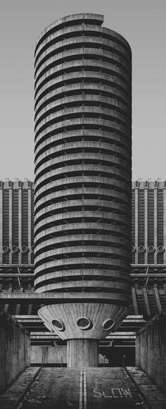 """A Future City From The Past by Clemens GritlThe series, """"A Future City From The Past"""" is based on this mystifying vision of a radically aggressive urban dystopia — an uncompromising design in the..."""