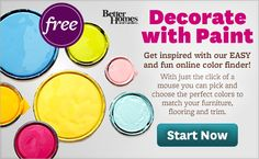 Color-a-Room Online App: Choosing Interior Paint Colors for Any Room! - BHG.com