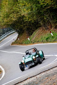 Caterham 160. Extremely simple and chic. We love this car and this picture at Hillbank.