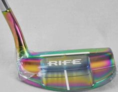 Guerin Rife Abaco Putter Tropical Finish with Headcover Choose Length | eBay