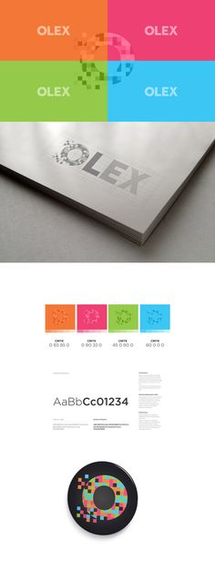 OLEX Personal Identity Branding by Lemongraphic , via Behance