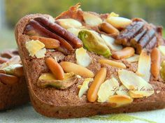 Financiers au chocolat et aux fruits secs