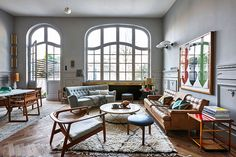 19th century home for a collector in Brussels | PUFIK. Beautiful Interiors. Online Magazine
