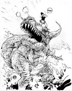 Moon Girl and Devil Dinosaur #3 Paul Pope Variant Marvel